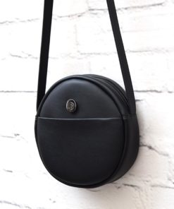 Black Crossbody Bag Vasilikibellou Artonomous 3