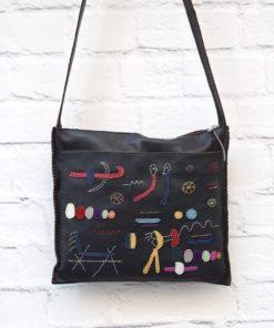 χιαστί γυναικεία τσάντα καφέ Artonomous 2