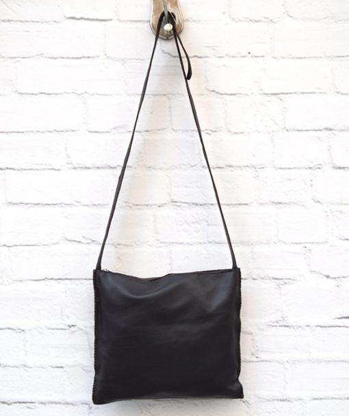 χιαστί γυναικεία τσάντα καφέ Artonomous 3
