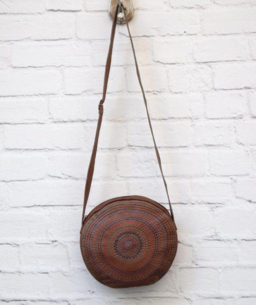 Crossbodybag Brown Leather Artonomous 1