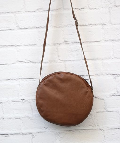 Crossbodybag Brown Leather Artonomous 4
