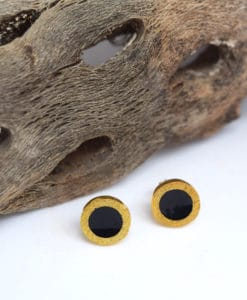 Enamel Earrings Black Artonomous 1