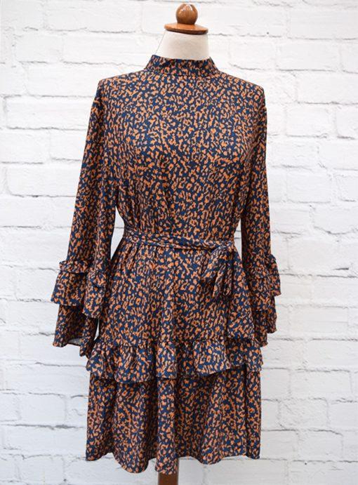 Φόρεμα ζωνάκι μουσταρδί Artonomous 2