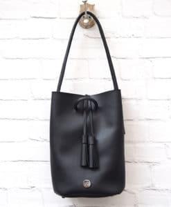 Handbag Black Tassel Vasiliki Bellou Artonomous 1