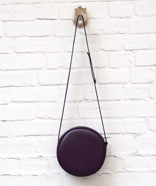 Purple Crossbody Bag Vegan Vasiliki Bellou Artonomous 4
