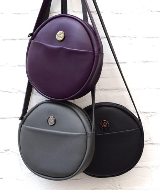 Purple Crossbody Bag Vegan Vasiliki Bellou Artonomous 6