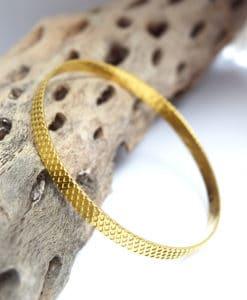 Βραχιόλι ασήμι χρυσό Artonomous 1