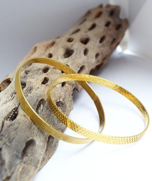 Βραχιόλι ασήμι χρυσό Artonomous 3
