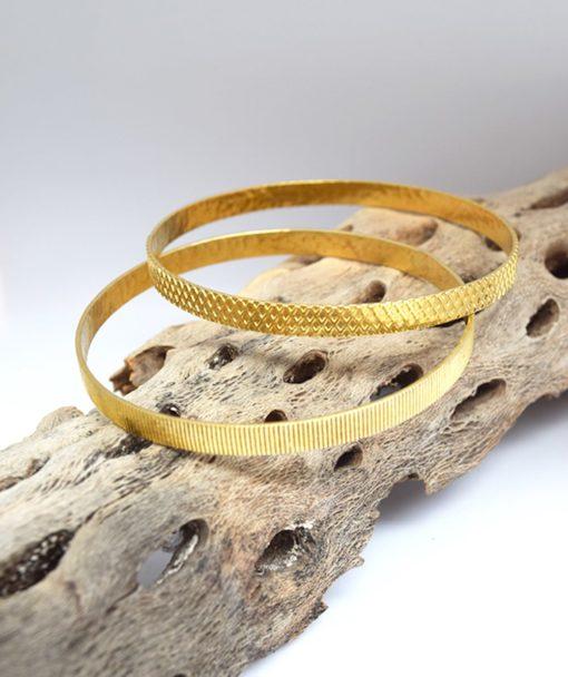 Βραχιόλι ασήμι χρυσό Artonomous 4