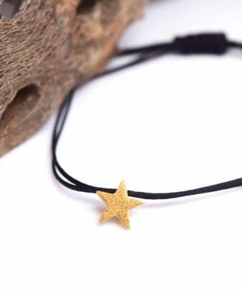 Βραχιόλι αστέρι χρυσό Artonomous 1