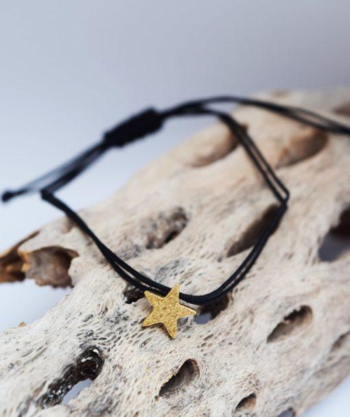 Βραχιόλι αστέρι χρυσό Artonomous 2