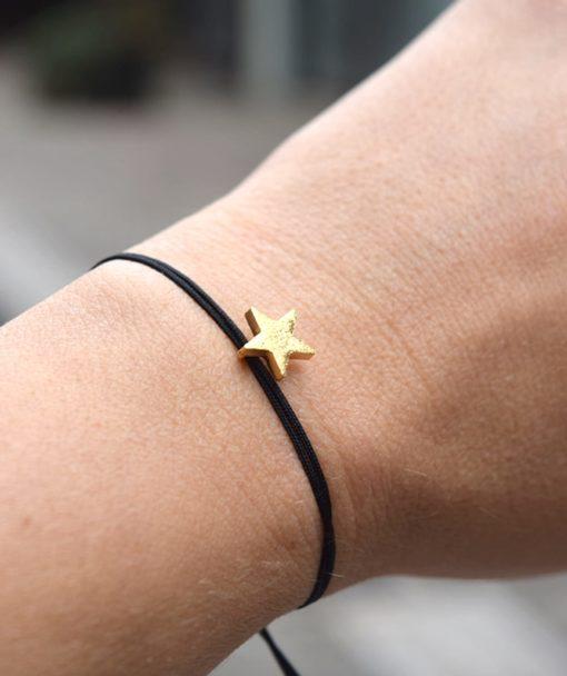 Βραχιόλι αστέρι χρυσό Artonomous 3