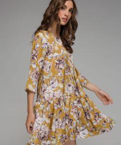 κίτρινο φόρεμα Disu Artonomous 1