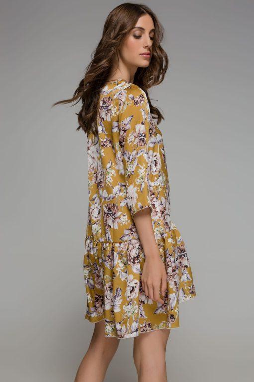 κίτρινο φόρεμα Disu Artonomous 2