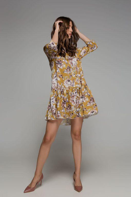 κίτρινο φόρεμα Disu Artonomous 4