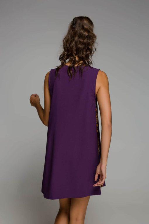κοντό μοβ φόρεμα Disu Artonomous 3
