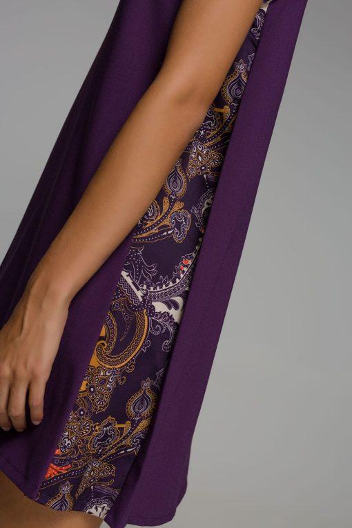 κοντό μοβ φόρεμα Disu Artonomous 4