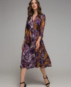 μοβ φόρεμα Disu Artonomous 1