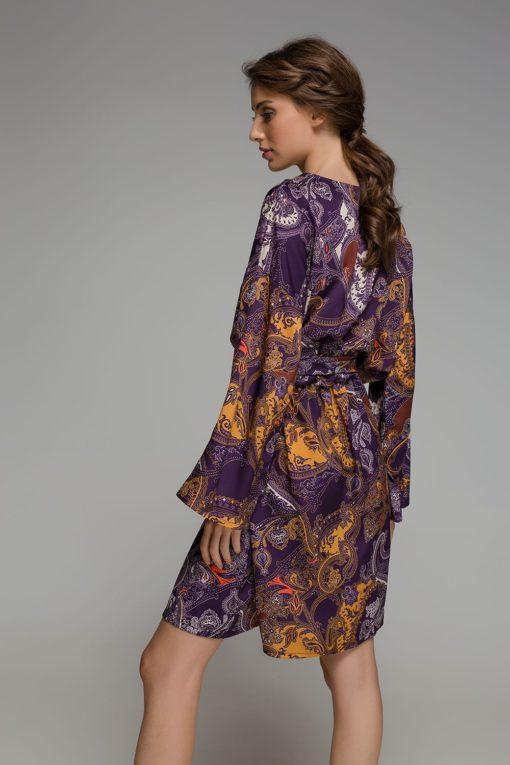 μοβ φόρεμα Disu Artonomous 3