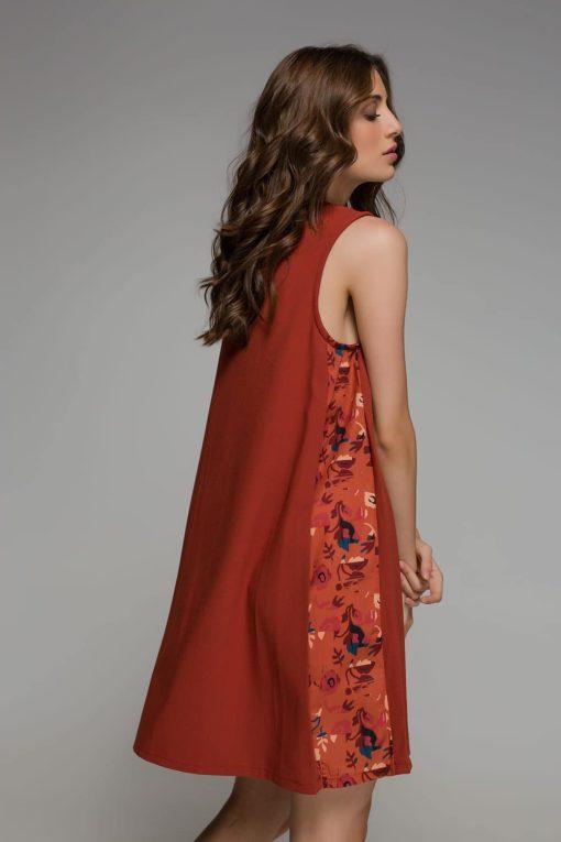 Orange Dress Mini Disu Artonomous 2