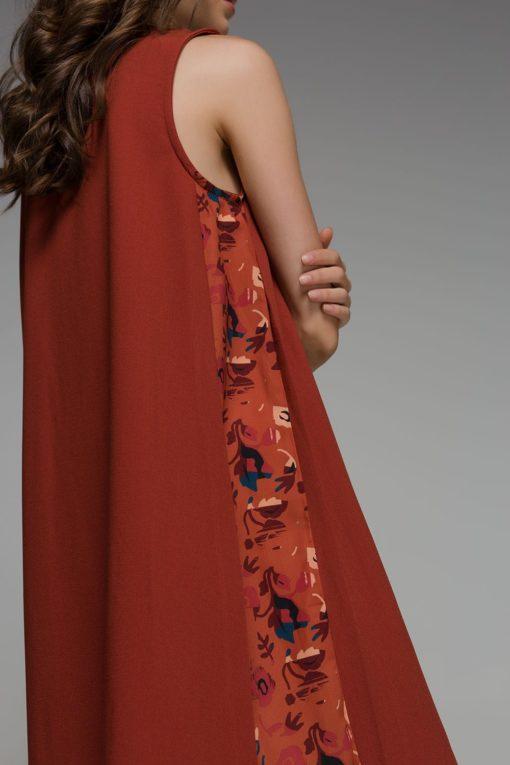 Orange Dress Mini Disu Artonomous 4