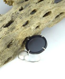 Ασημένιο δαχτυλίδι με Plexiglas Γκρι 00256224a (1)