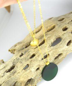 Κρεμαστό μακρύ με Plexiglas Πράσινο 00256226a (1)
