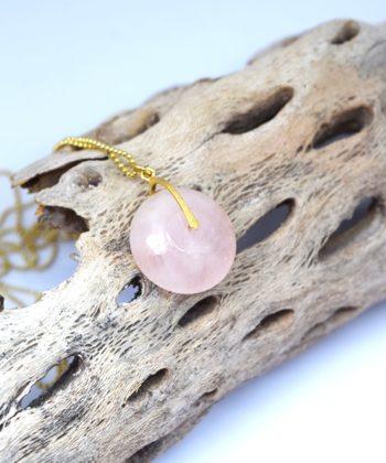 Κρεμαστό μακρύ ροζ χαλαζίας 00256248a