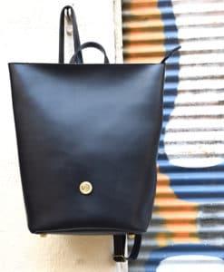Backpack Black Zip Vasilikibellou Artonomous 2
