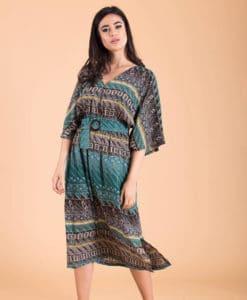 Εμπριμέ Midi φόρεμα Artonomous 1
