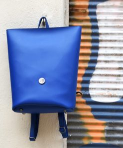 Backpack Blue Vasiliki Bellou Artonomous 1