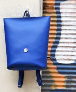 Backpack Blue Vasiliki Bellou Artonomous 1