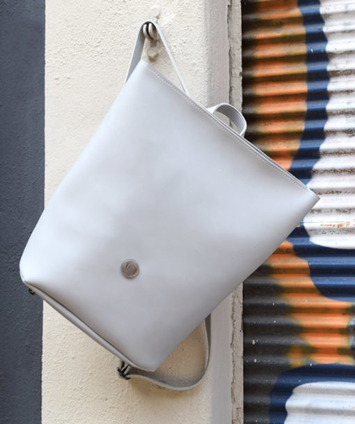 Backpack Grey Vasiliki Bellou Artonomous 2