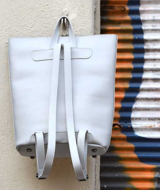Backpack Grey Vasiliki Bellou Artonomous 3