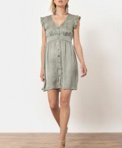 φόρεμα λαδί κοντό Helmi Artonomous 1