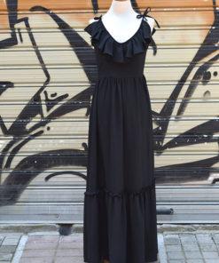 Maxi φόρεμα με βολάν