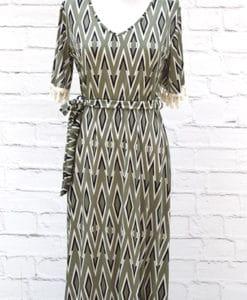 φόρεμα εμπριμέ Maxi Artonomous 1