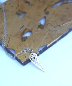 Pendant Feather Silver Artonomous 1