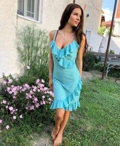 Polkadot Dress Green Artonomous 2