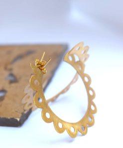 Hoop Earrings Gold Artonomous 2