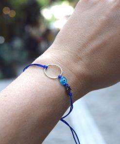 Circle Blue Bracelet Artonomous 3