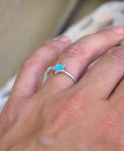 Enamel Silver Ring Prigipo Artonomous 3