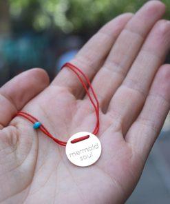Red Bracelet Silver Tsaplari Artonomous 2