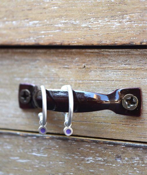 Silver Earring Enamel Prigipo Artonomous 2