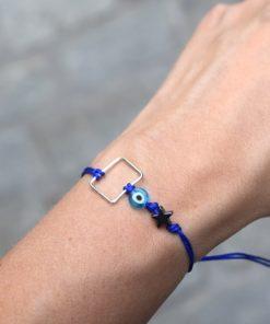 Square Bracelet Blue Tsaprali Artonomous 3