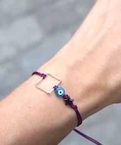 Square Bracelet Evil Eye Tsaprali Artonomous 3