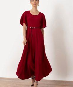 κόκκινο φόρεμα Helmi Artonomous 1