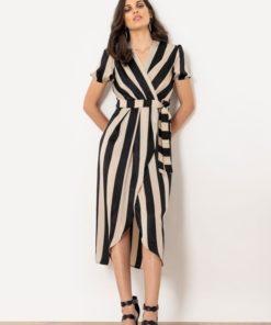 ριγέ φόρεμα Helmi Artonomous 1