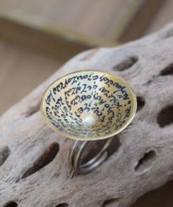Ring Brass Silver Artonomous 1