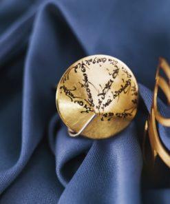 Silver Brass Ring Meitani Artonomous1